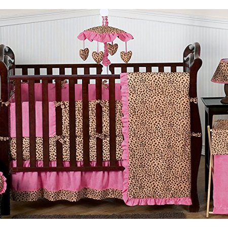 Cheetah Animal Print Full Length Double Zippered Body Pillow Cover by Sweet Jojo Designs