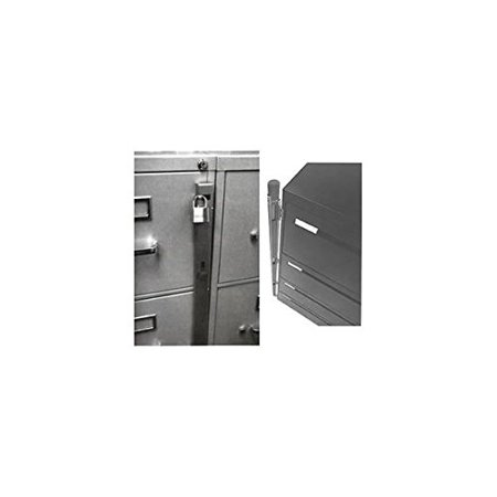 - ABUS 07030 Lock Bar for 3 Drawer File Cabinet