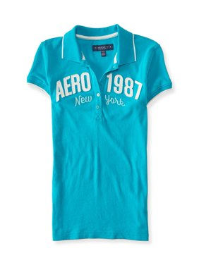 Aeropostale Juniors 1987 New York Polo Shirt