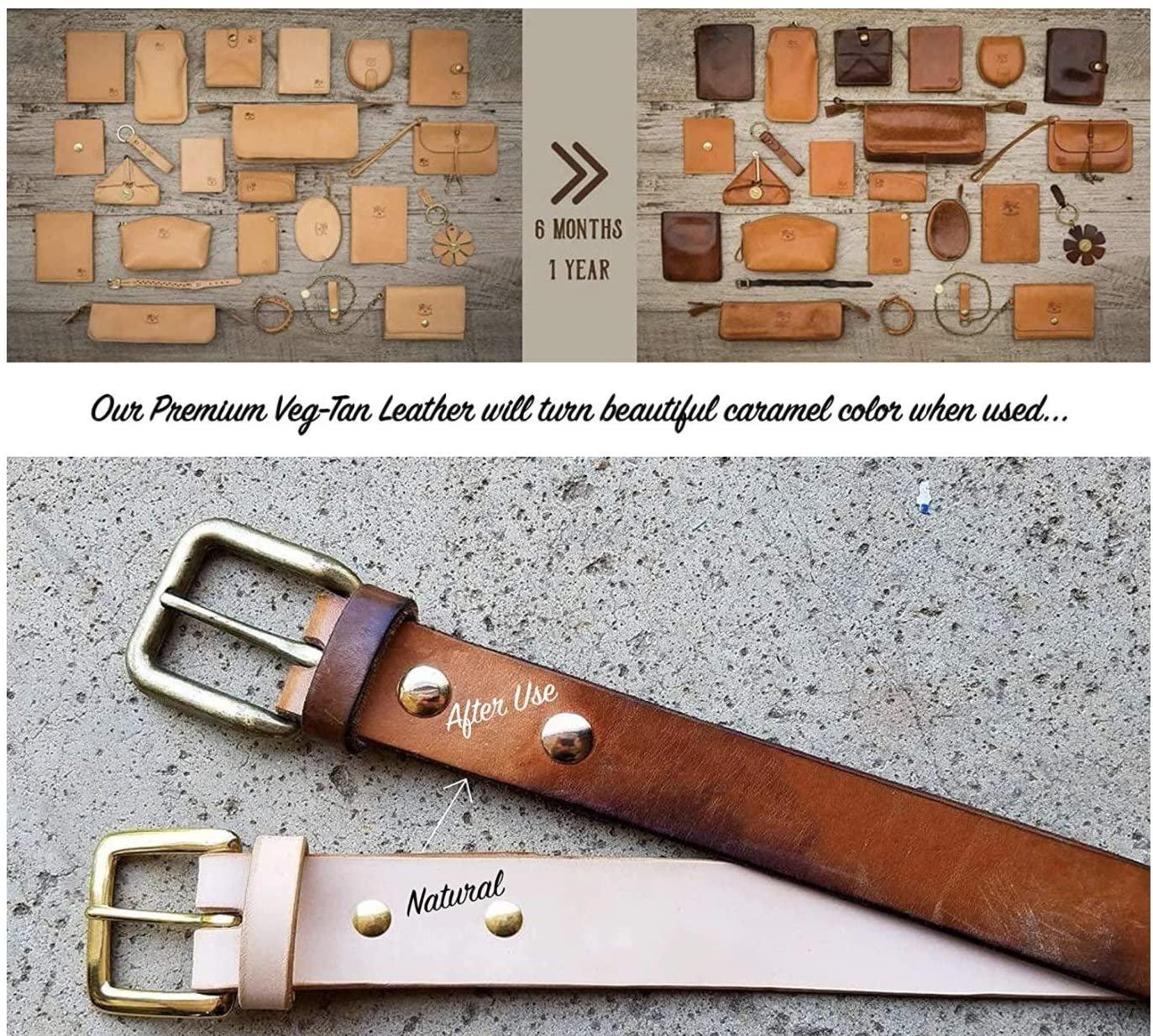 "Stonestreet Premium Natural Import Vegetable Veg Tan Tooling Stamping Carving Full Grain Cowhide Leather Strips Belt Blanks Straps 48-52 Length 3//4 6//7 8//9 oz Thickness 1-1//4/"" 6//7 oz"