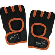Vivi Life Pf-v8310-org Workout Gloves, Orange