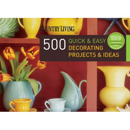 500 Quick & Easy Decorating Projects & - Golf Decorating Ideas