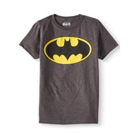 DC Comics Batman Logo with HD Ink Short Sleeve T-Shirt (Little Boys & Big Boys)