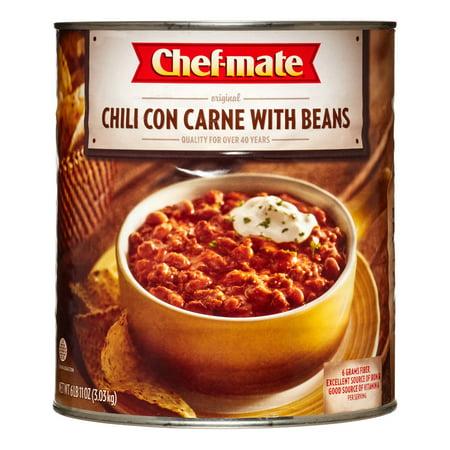 chef mate original chili con carne with beans 107 oz. Black Bedroom Furniture Sets. Home Design Ideas