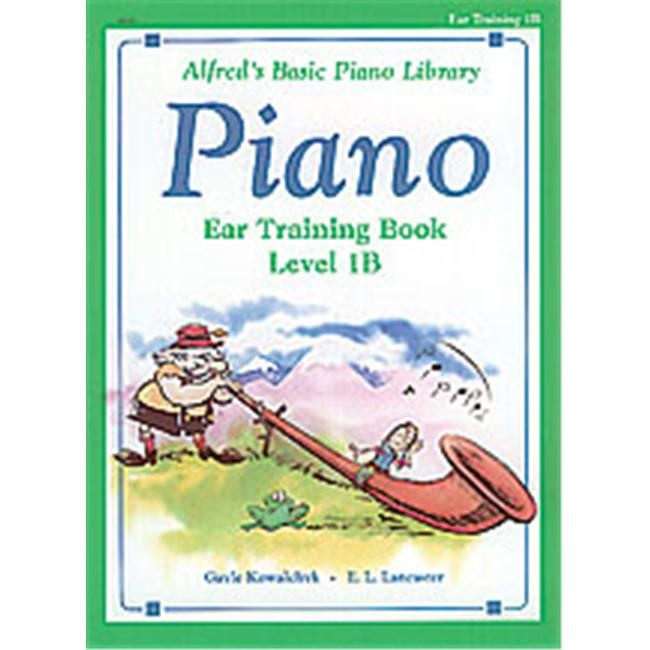 Alfred 00-3113 Basic Piano Course- Ear Training Book 1B - Music Book
