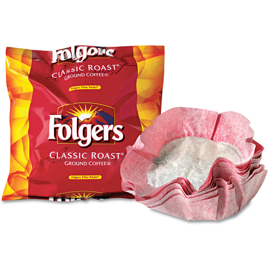 Folgers Classic Roast Ground Coffee, 40ct
