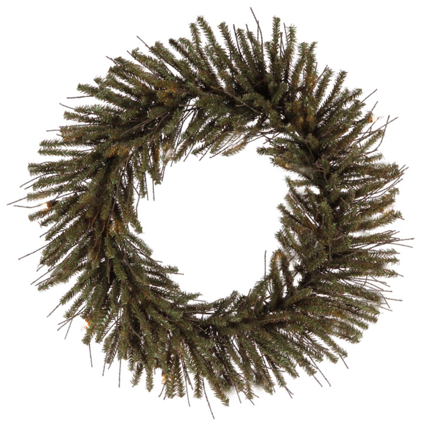 "Pack of 12 Vienna Twig Artificial Christmas Wreaths 12"" - Unlit"