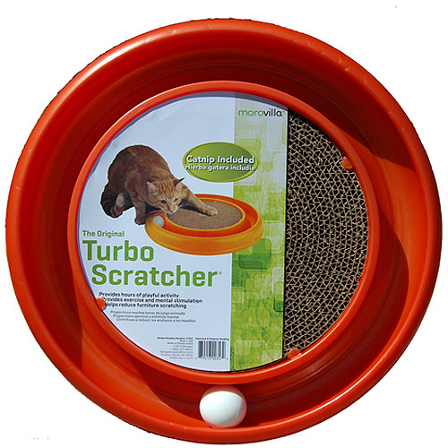 Morovilla Turbo Scratcher Interactive Cat Toy And Scratcher