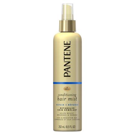Pantene Pro-V Hair Detangler Mist, Nutrient Repair & Protect, 8.5 Fl Oz Detangling Light Conditioning Mist