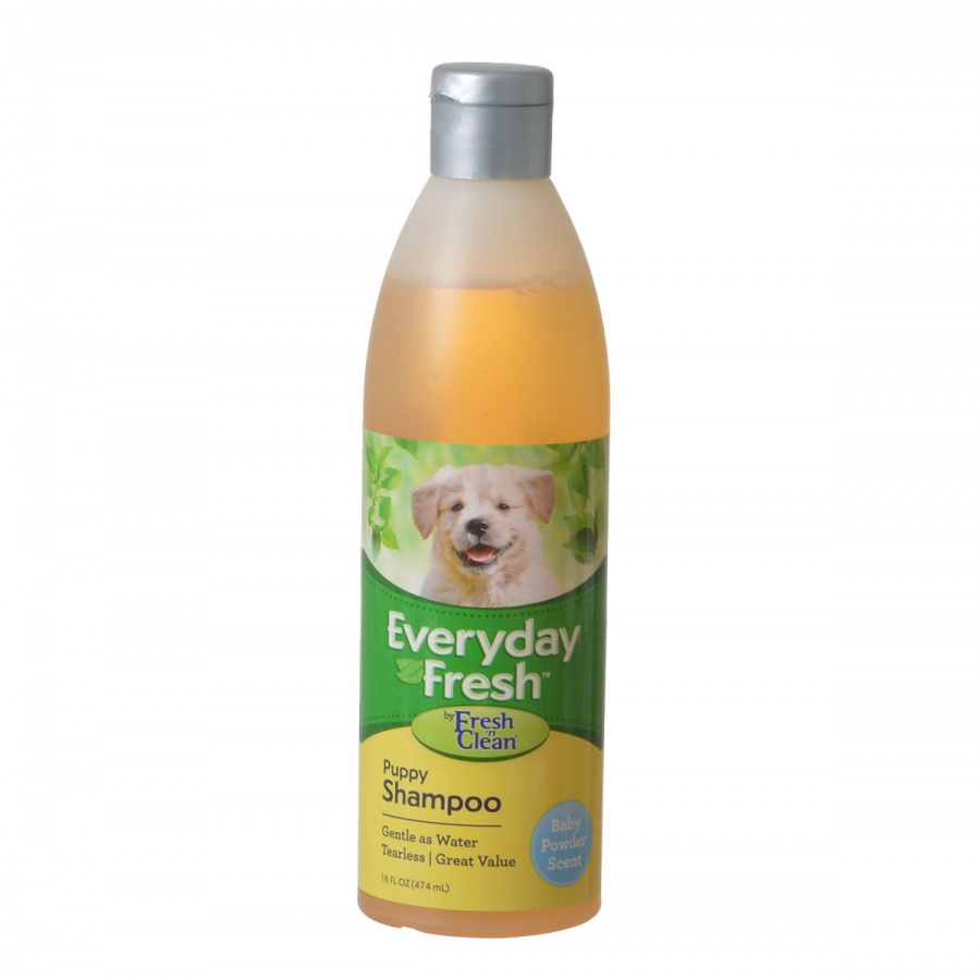 Fresh 'n Clean Everyday Fresh Puppy Shampoo Baby Powder Scent 16 oz Pack of 10 by