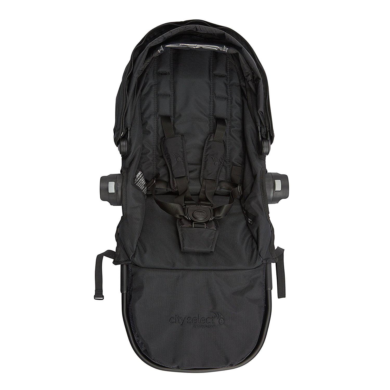 Baby Jogger City Select Black Frame Second Seat Kit Black