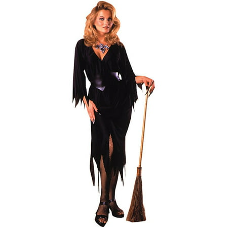 Every Witch Way Halloween Costume (Bewitching Witch Adult Halloween Costume - One Size Up to Women's)
