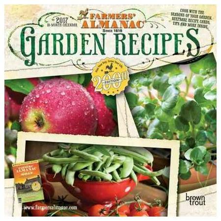 Farmers 39 Almanac Garden Recipes 2017 Calendar