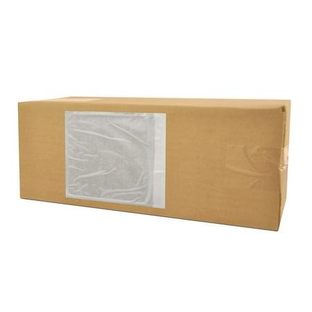 Full Face Packing List Envelopes - Clear Packing List Envelopes 7
