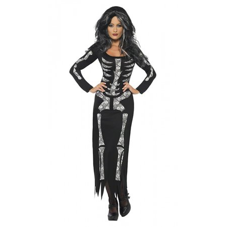 Skeleton Adult Costume - Medium - Plus Size Womens Skeleton Costume
