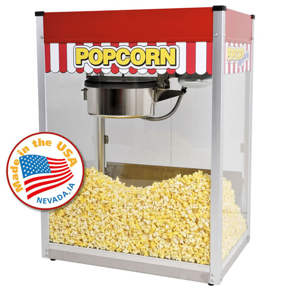 1112810 Classic Pop 14 oz. Popcorn Machine by TableTop king