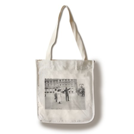 Police Traffic Squad in New York City Photograph (100% Cotton Tote Bag - Reusable)