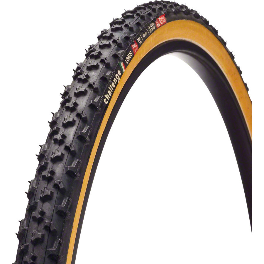 Challenge Limus Tire 700 x 33c Black/Brown Clincher
