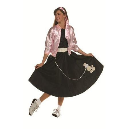 Teens Pink Lady Jacket Costume
