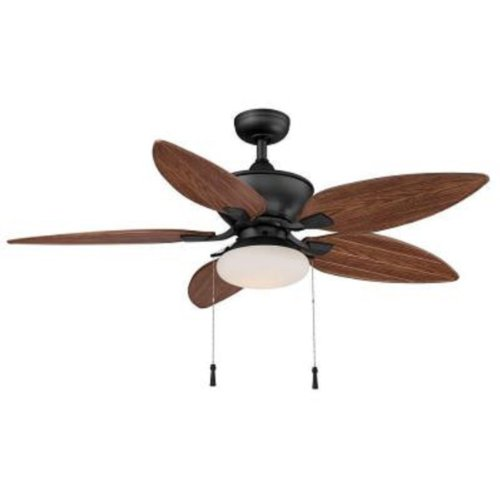 Hampton Bay Edgewater Ii 52 In. Indoor outdoor Natural Iron Ceiling Fan by Hampton Bay