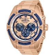Invicta 31445 Mens Bolt Quartz Chronograph Rose Gold Dial Watch