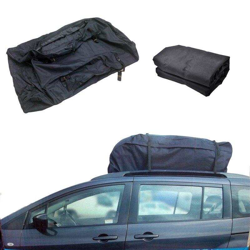 15 Cubic Feet Universal Car Van SUV Cargo Roof Top Carrier Bag Rack Storage  Luggage