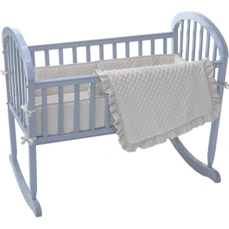 Image of ABC 3 Piece Heavenly Soft Cradle Set - Ecru