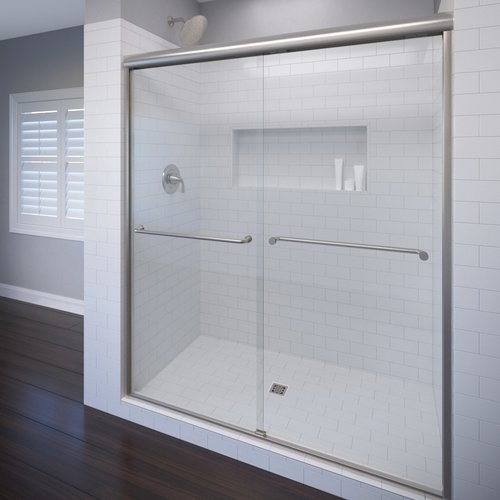 Basco Celesta 48'' x 72'' Frameless Bypass Sliding Shower Door