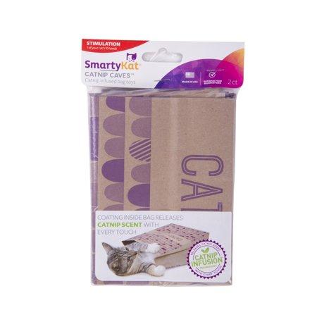 Smartykat  Cat Caves  Catnip Infused Paper Bags  Set Of 2