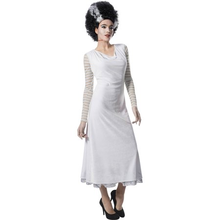 Womens Monster Costume (Universal Monsters Womens Bride Of Frankenstein Halloween)