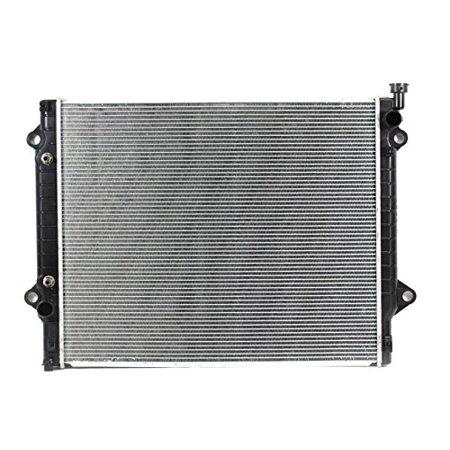 Radiator - Cooling Direct For/Fit 13565 16-18 Toyota Tacoma 3.5/2.7L Manual Transmission Plastic Tank Aluminum (2002 Toyota Tacoma Manual Transmission Fluid Change)