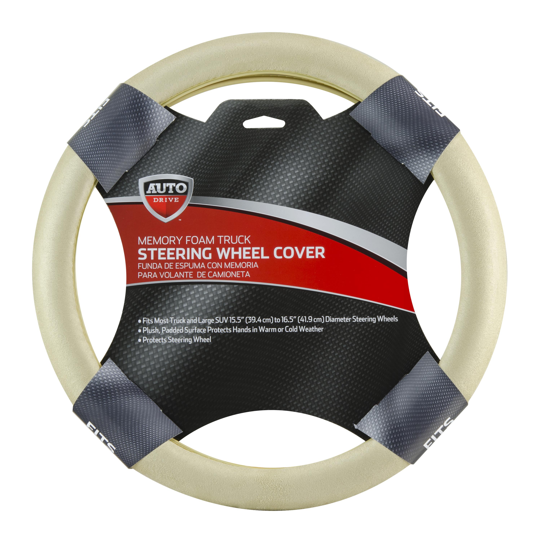 AutoDrive Memory Foam Truck Steering Wheel Cover