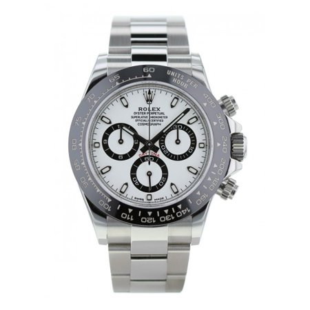 Rolex Cosmograph Daytona 116500LN White Dial Stainless Steel Automatic Men Watch (Rolex Daytona)