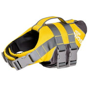 Helios Splash-Explore Outer Performance 3M Reflective and Adjustable Buoyant Dog Harness and Life Jacket