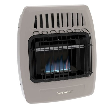 Gas Vent Tall Cone Flat - Kozy World Blue Flame Propane & Natural Gas Vent Free Wall Heater