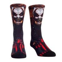 Official WWE Authentic Bray Wyatt The Fiend Rock 'Em Socks Multi 6-8.5