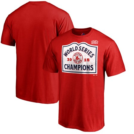 Boston Red Sox Majestic 2018 World Series Champions Entering Boston Big & Tall T-Shirt - Red