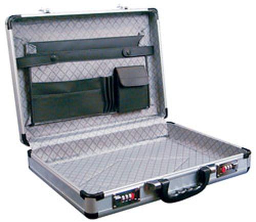 17.5 Silver Aluminum Briefcases