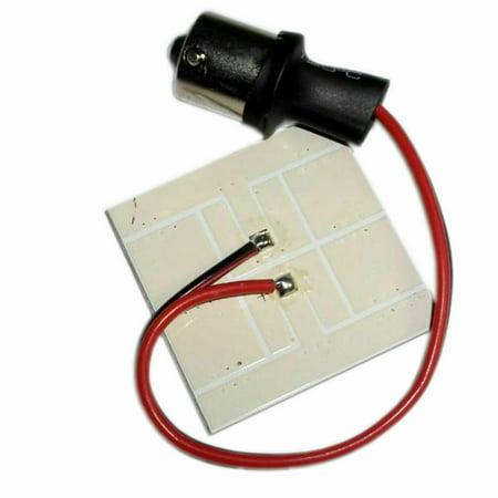 HQRP 2-Pack BA15s Bayonet Base 9 LEDs SMD 5050 LED Bulb Cool White for #1141 #1156 Coachmen Apex RV Brake Side Marker Lights Replacement + UV Meter - image 3 de 4