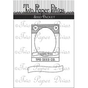 "Two Paper Divas Clear Stamps 6""x4.5""-see"
