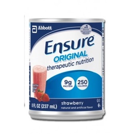 Ensure Original Strawberry  8 Ounce Cans  Therapeutic Nutrition  Abbott 50648   Case Of 24