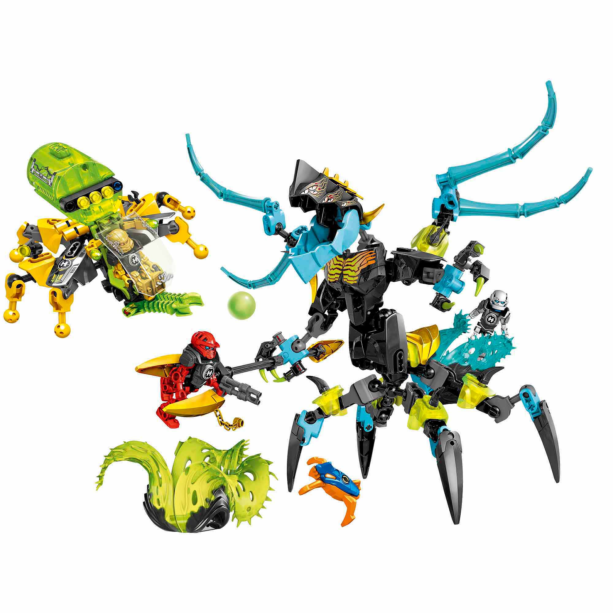 lego hero factory queen beast vs furno evo stormer walmartcom