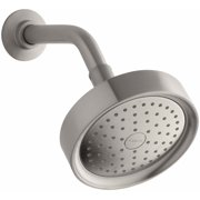 KH K-965-AK-BN Purist 2.5 Gpm Single-function Wall-mount Showerhead with Katalyst Air-induction Spray Vibrant Brushed Nickel