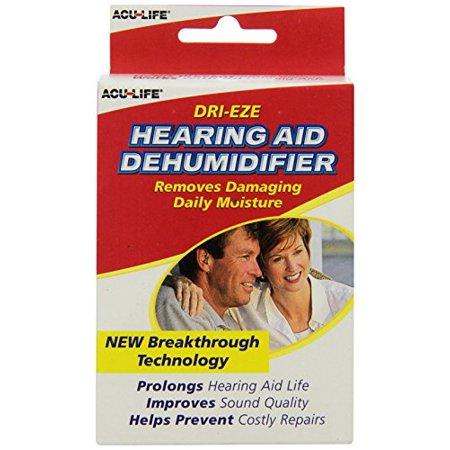 3 Pack - Acu-Life Dri-Eze Hearing Aid Dehumidifier 1 Each ()