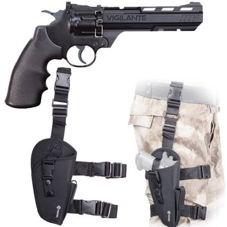 Crosman Vigilante .177 caliber Air Pistol and Holster