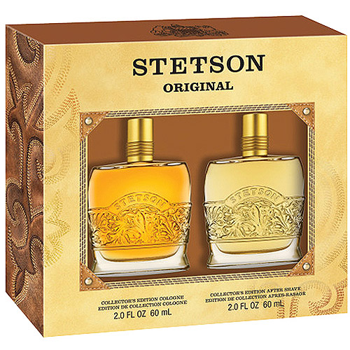 Stetson Original Collector's Edition Cologne & After Shave Gift Set, 2 pc