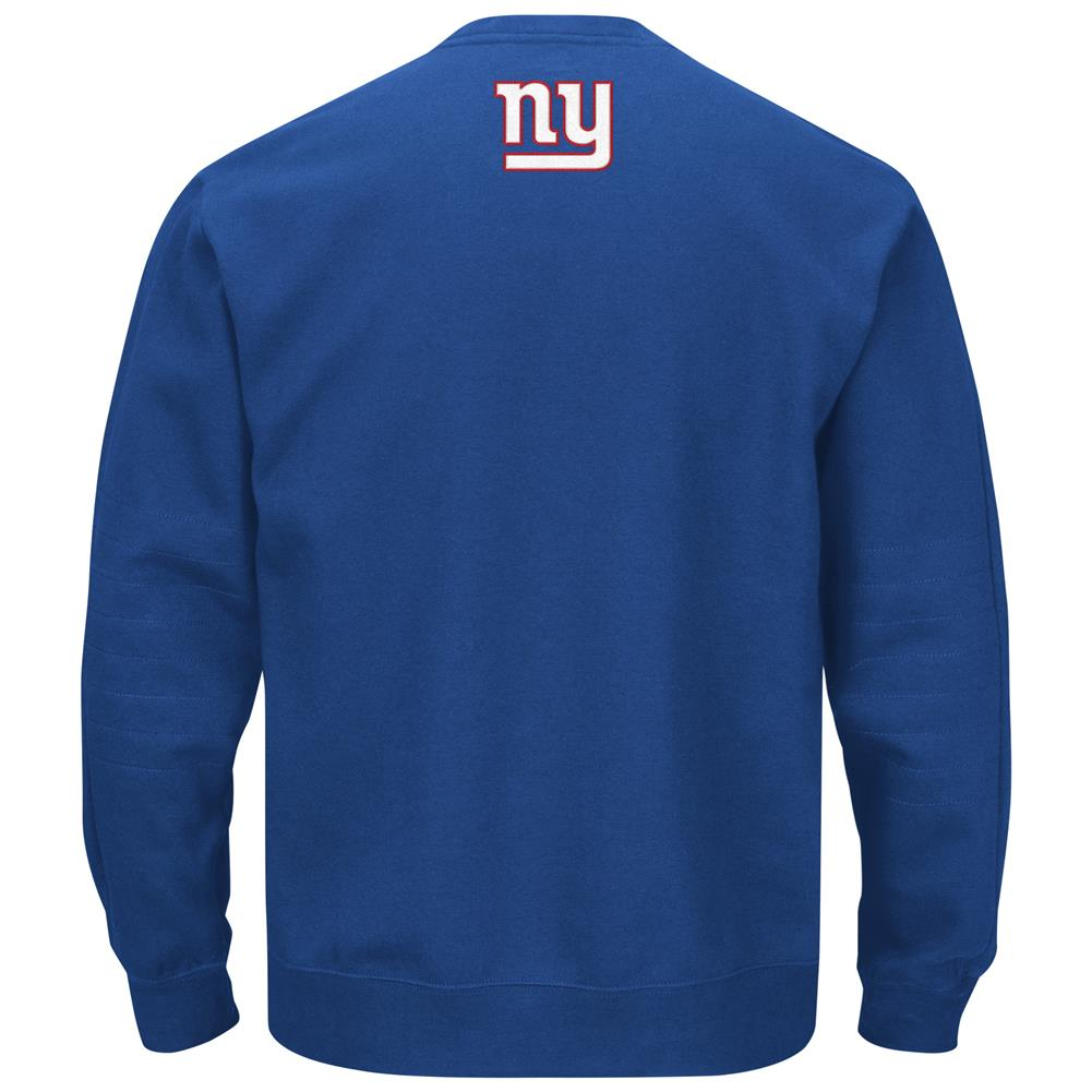 f88596161 Men s New York Giants NY Fleece Crew Neck Sweatshirt - Walmart.com