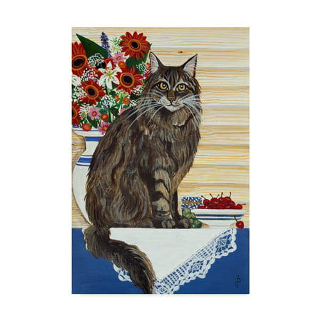 - Trademark Fine Art 'Maine Coon Cat' Canvas Art by Jan Panico