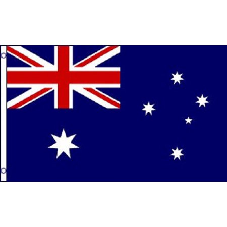 3x5 Australia Flag Australian Banner Country Pennant New Indoor Outdoor ()