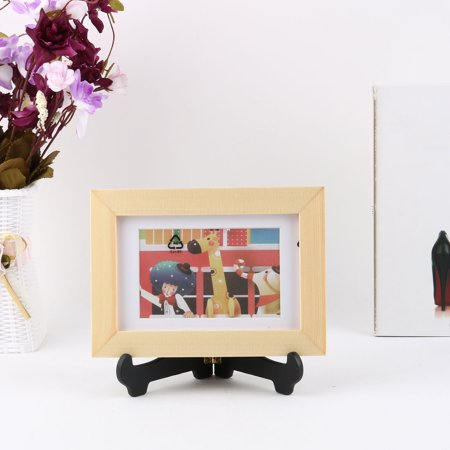 Plastic Plate Display Stands 4.3 to 6 Inch Photo Frame Book Place Card Rack 8pcs - image 3 of 7
